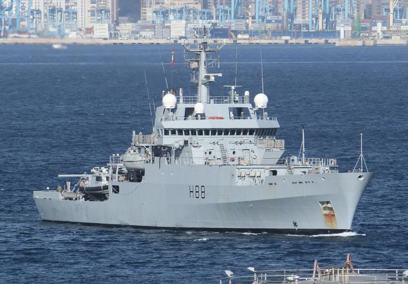 AA NN HMS ENTERPRISE H88 GIB 2013